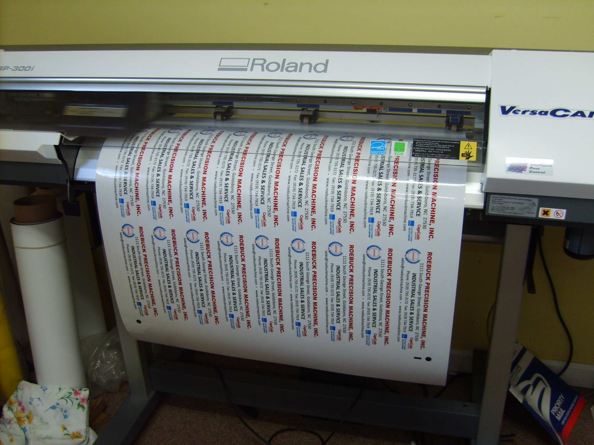 Vinyl Label Printer